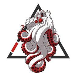 Kraken BJJ Icon Logo