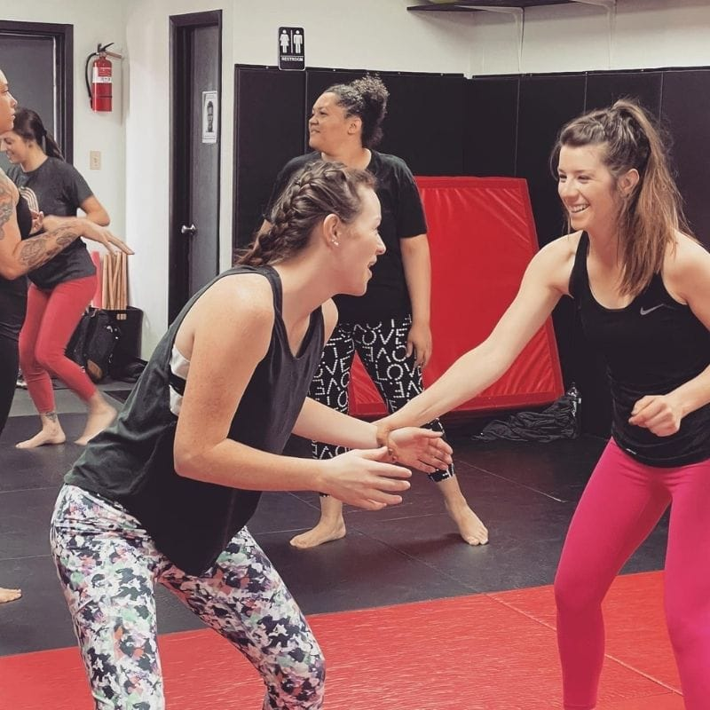 Self-defense classes are fun and engaging