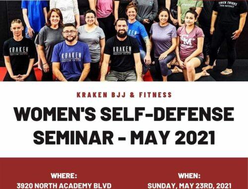 Women's Self-Defense Seminar – May 23rd, 2021