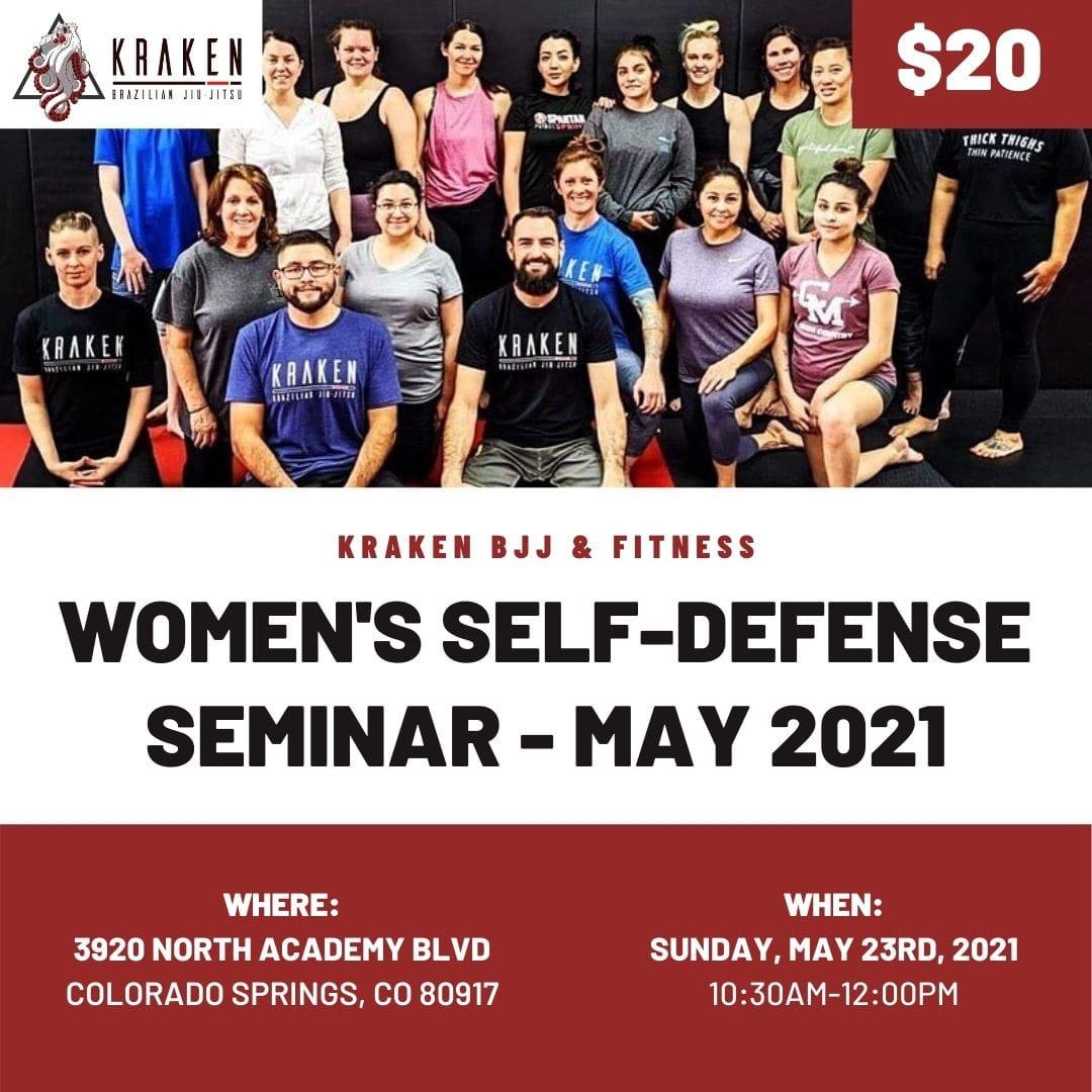 Women's Self Defense Seminar May 2021